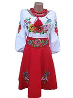 "Жіноче вишите плаття ""Нейсін"" (Женское вышитое платье ""Нейсин"") KD-0003"