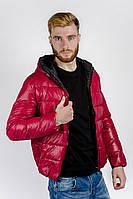 Куртка-пуховик мужской спортивный. (Красный). Арт-249KF001.5