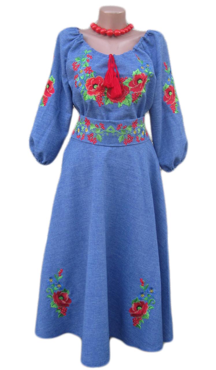 """Жіноче вишите плаття """"Невон"""" (Женское вышитое платье """"Невон"""") KD-0004"""