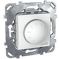 Светорегулятор белый 1000 Вт Schneider Electric - Unica (Шнейдер Электрик Уника mgu5.512.18)