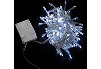 Гирлянда светодиодная внутренняя String C 100LED 5m бел/прозрачный IP20 EN Delux