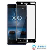 Защитное стекло Nokia 8 (full Screen) (2.5D)