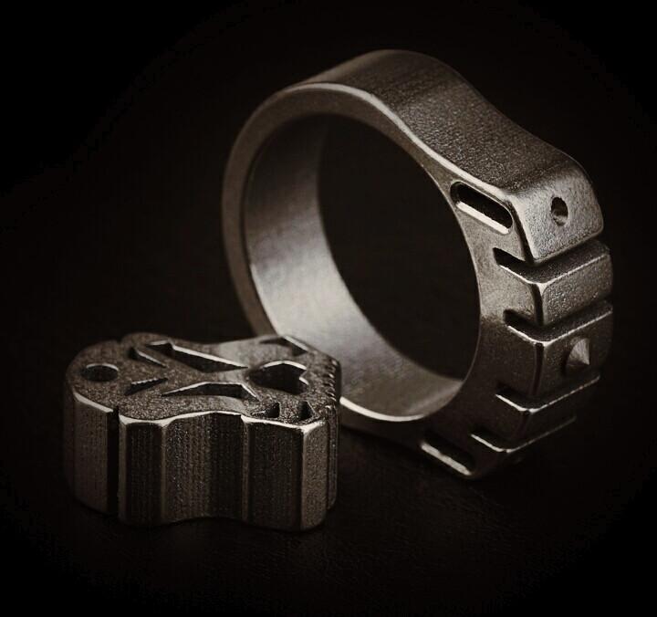 Брелок  MecArmy SKF2T кастет перстень