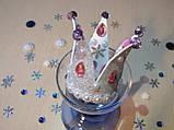 Корона с бусинами из фоамирана Серебро-розовый., фото 2