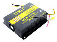 Инвертор, преобразователь 24 12, автоинвертор, Power Converter 24-12V UKC I-Power 40A, інвертор, invertor