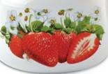 Чайник эмалированный со свистком (2.5 л) Epos Клубника, арт. 2711/3Ч