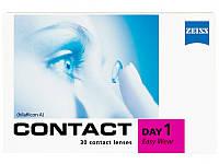 Линзы контактные однодневные  Zeiss CD 1 Easy Wear, (30шт)