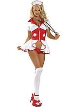 Эффектный ролевой костюм медсестры