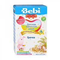 """Bebi Premium. Молочная каша """"Гречка"""" 4 мес+, 200 г. (019972)"""