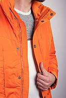 Яркая куртка-пуховик (Светло-оранжевый). Арт-225KF054.5
