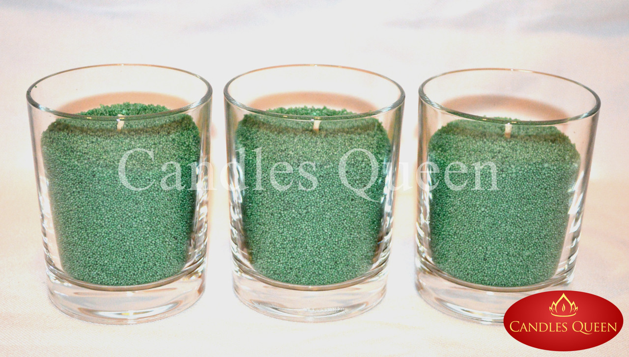 Подсвечник стакан стеклянный 90х75 мм