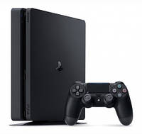 Игровая Приставка Sony Playstation 4 Slim 500Gb Black (Horizon Zero Dawn, Uncharted 4, God Of War 3, А Также П