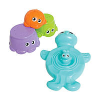 """Playgro. Игрушка для ванны """"Черепашка с друзьями"""", 9мес+ (15410)"""