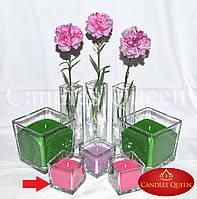 Подсвечник для насыпной свечи 8х8х8 см