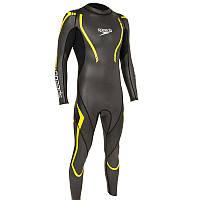 Гидрокостюм Thinswim 2.0 Speedo мужской, желто-серый