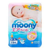 Moony. Подгузники Moony S (4-8 кг), 84 шт. (Disney)(210756)