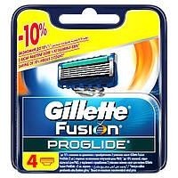 Gilette. Fusion ProGlide. Сменные касеты, 4шт (085514)