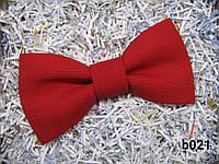 Галстук-бабочка, красный