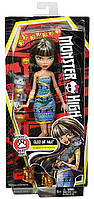 Монстер Хай Monster High Клео де Нил с котенком Cleo De Nile Doll with Kitten Оригинал!!! Mattel - США. DNX38