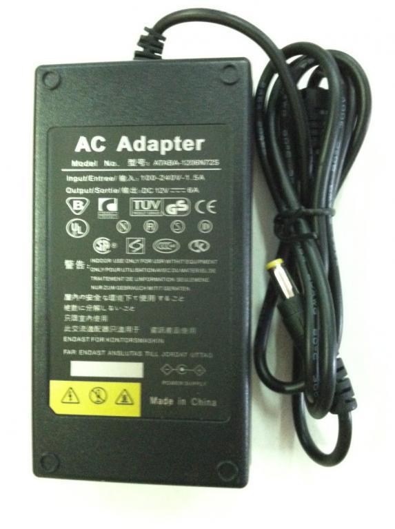 Блок питания адаптер 12 В 6 А / 12V 6A