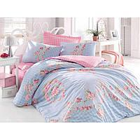 Комплект постельного белья Cotton Box Mode line sofi mavi
