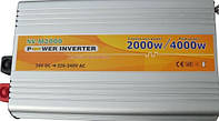 Инвертор напряжения 12-220 Вольт 2000Вт NV-M2000