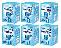 Nutrilon (Нутрилон) 1 от 0 до 6 мес. (6 шт), 6x1000 г. (929670/6)