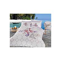 Комплект постельного белья Cotton Box Maritime voyage lila