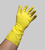 Перчатки латексные хозяйственные, размер S