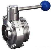 Клапан дисковый резьба/сварка Ду 32 AISI 304