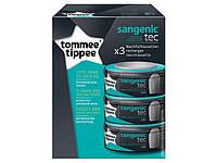 Tommee Tippee. Сменная касета для накопителя подгузников Sangenic Tec, 3 шт (82033502)