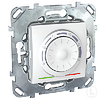 Терморегулятор для теплого пола белый Schneider Electric - Unica (Шнейдер Электрик Уника mgu3.503.18)