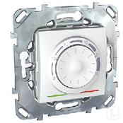 Терморегулятор для теплого пола белый Schneider Electric - Unica (Шнейдер Электрик Уника mgu3.503.18), фото 1
