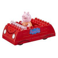 Peppa. Машина Пеппы (фигурка мамы свинки, 16 деталей), (06035)