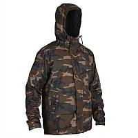Куртка для охоты зимняя Sibir 100 Solognac мужская, камуфляжная