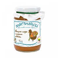 Marmaluzi. Овощное пюре с мясом индейки, 190г (140193)