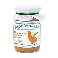 Marmaluzi. Овощное пюре с мясом курицы, 190г (140056)