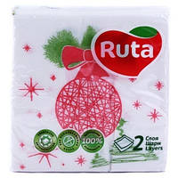 "Ruta. Салфетки Art Double Luxe ""Новогодние"",  40 шт. (745001)"