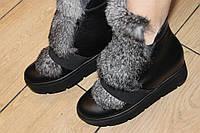 Ботинки натуральная кожа Зима