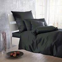 Постельное белье Lodex 200х220 Anthrazit/черный с серым оттенком Lodex