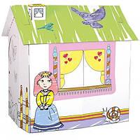"""Bino. Картонный домик """"Для принцессы"""" (440029)"""