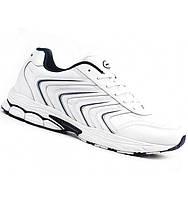 Белые кожаные кроссовки Bona. Размеры 36-41