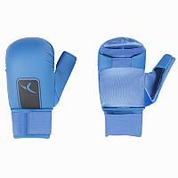 Перчатки для карате Domyos синие