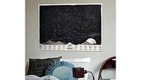 Карта Светящаяся звездного неба  ОПТОМ STARMAP Через тернии к звездам