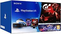 Sony PlayStation VR + PlayStation Camera + Gran Turismo: Sport + VR Worlds