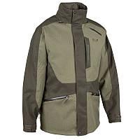 Куртка для охоты Supertrack 300 Imper Solognac мужская, зеленая