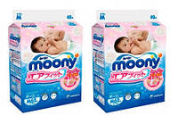 .Moony. Подгузники Moony M (6-11 кг), 2х62 шт. (39762)