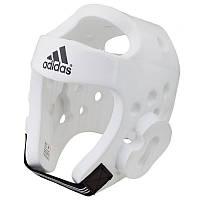 Шлем для тренировок с тхеквондо Adidas белый