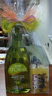 Набор: жидкое мыло D'Olive с оливковым маслом 400 мл и твердое мыло лавровое 100 гр, Dalan d'Olive