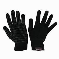 Перчатки для верховой езды Rider Tricot Fouganza, взрослые. черные